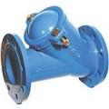 Обратный шаровый клапан 012F для канализации Ду 100